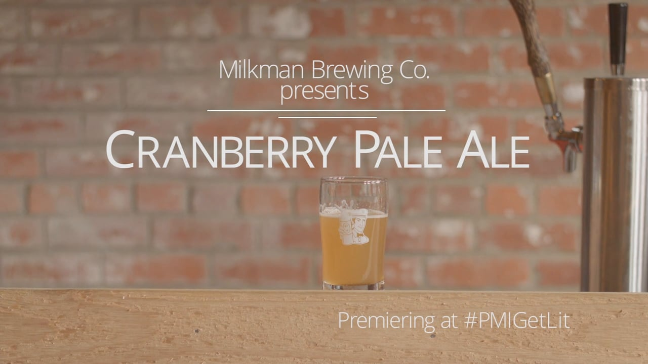 Cranberry Pale Ale Promo Video